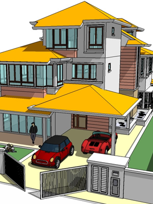 About Us Homeplans Malaysia Tropical Bungalow Homeplans Online